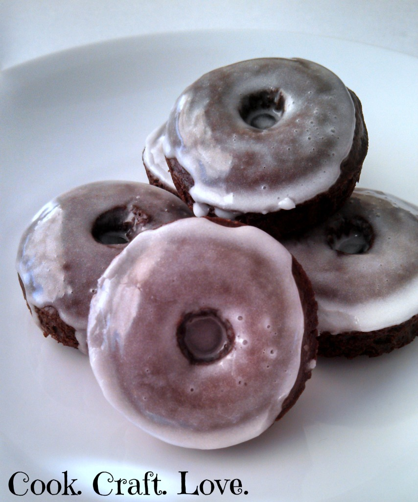 Chocolate Donuts from Cook. Craft. Love.