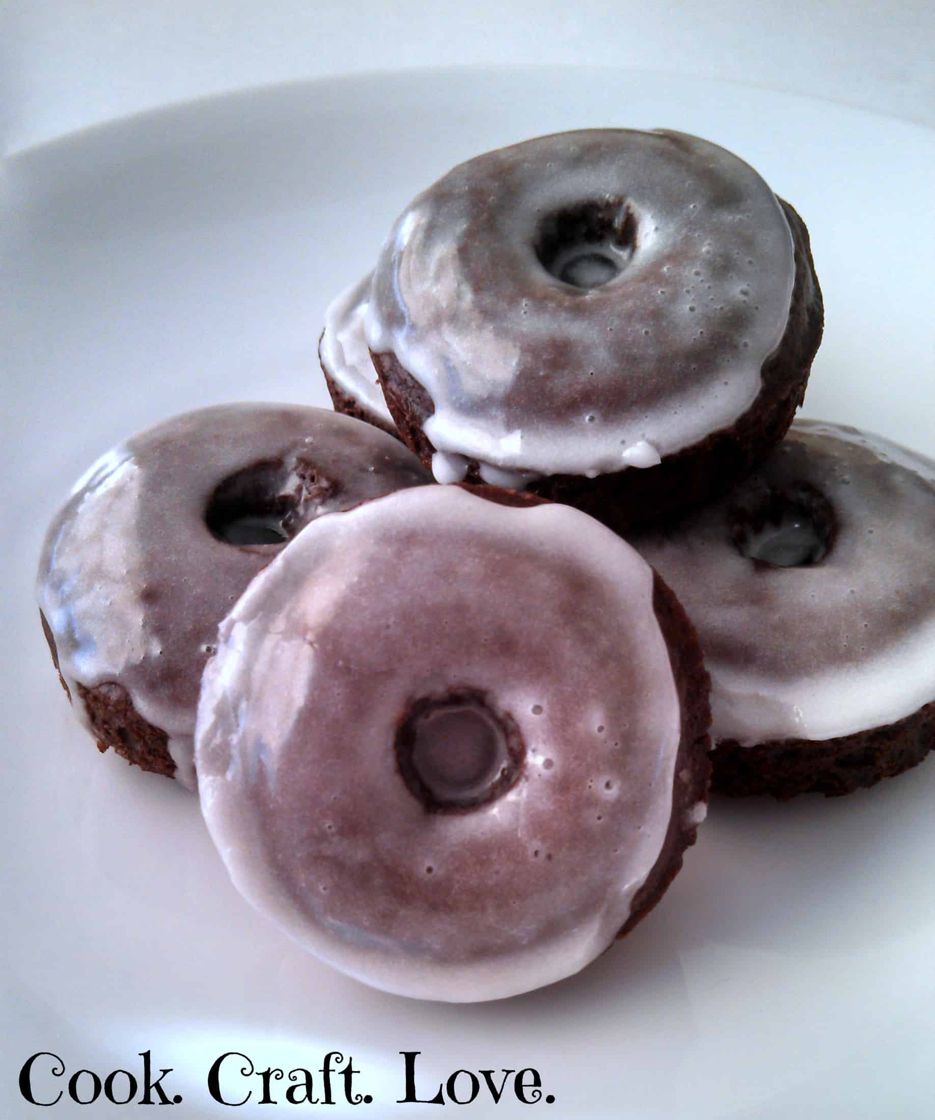 Chocolate Donuts | Cook. Craft. Love.
