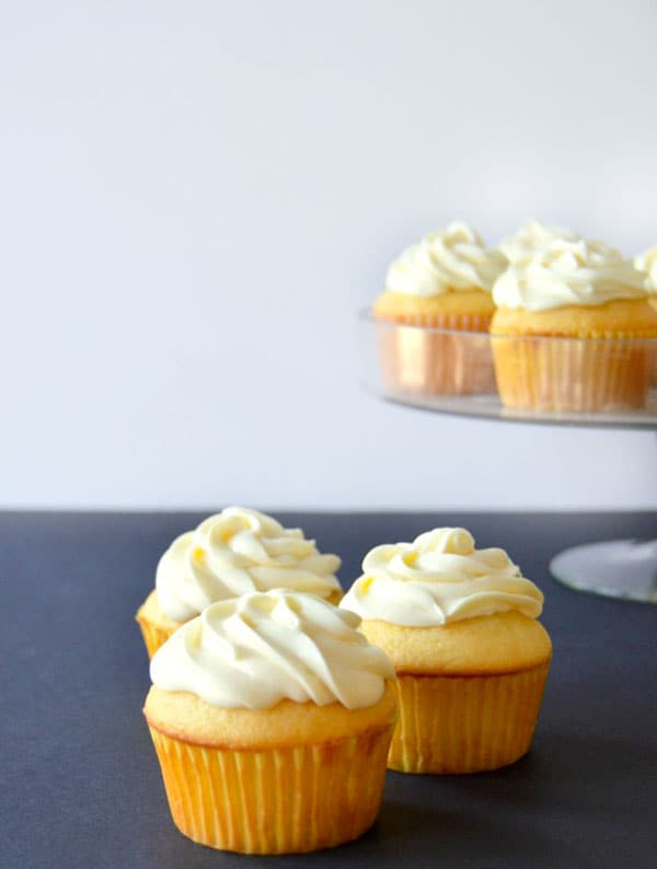 These lemony lemon cupcakes are the perfect mix of tart and sweet! And with lemonade powder for that tangy lemon flavor they couldn't get any easier!