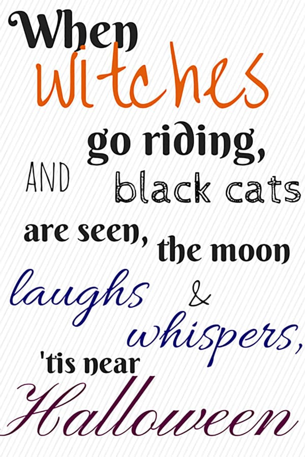 pick your favorite from these 3 free halloween printables and easily liven up your holiday decor - Haloween Printables