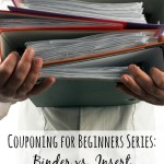 Binder vs. Insert Coupon Organization