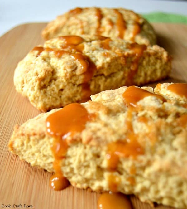 This easy and delicious scone recipe is the perfect compliment to your next breakfast or brunch. These brown sugar scones melt in your mouth and you'll never believe the secret ingredient in these scones that make them so moist and flaky!