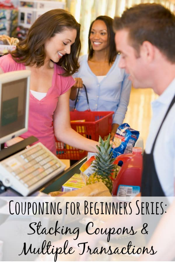 Even couponing beginners need a good set of intermediate skills to maximize their coupon efforts!  Stacking coupons and doing multiple transactions at checkout are two great ways to get the most savings with your coupons!