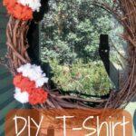 DIY T-Shirt Flowers