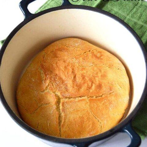 Effortless Dutch Oven Bread