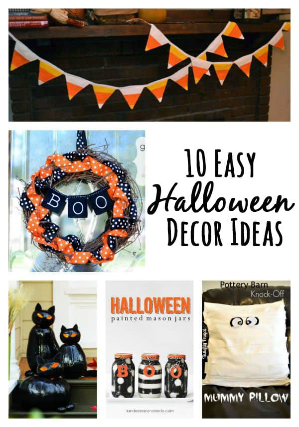 Get ready for Halloween even if you're pressed for time with these fast, fun, and easy Halloween decor ideas!