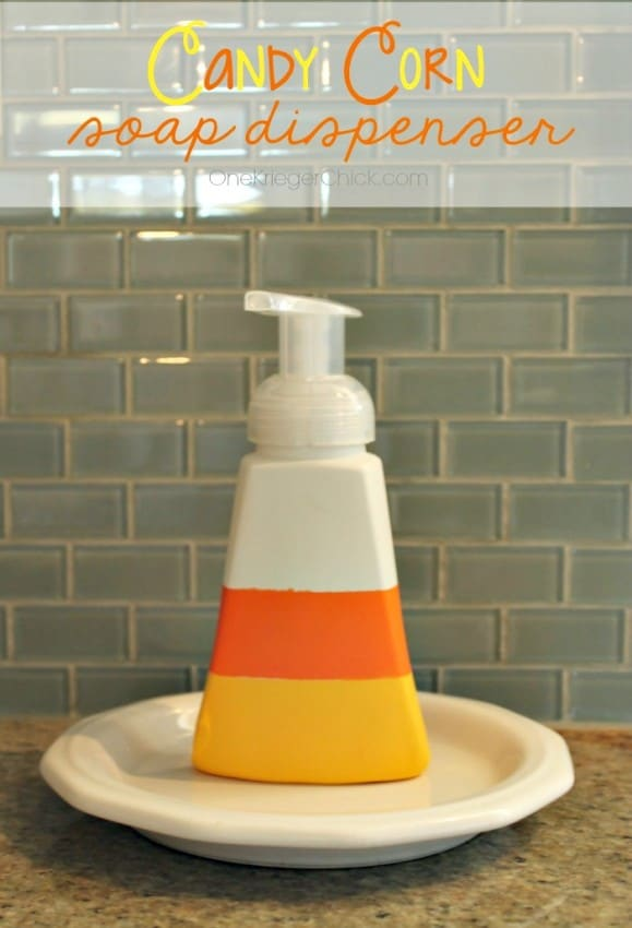 Candy Corn Soap Dispenser