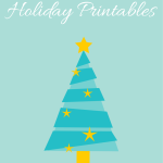 3 Free Holiday Printables