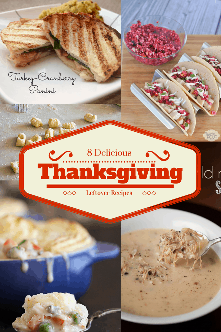 8 Delicious Thanksgiving Leftover Recipes