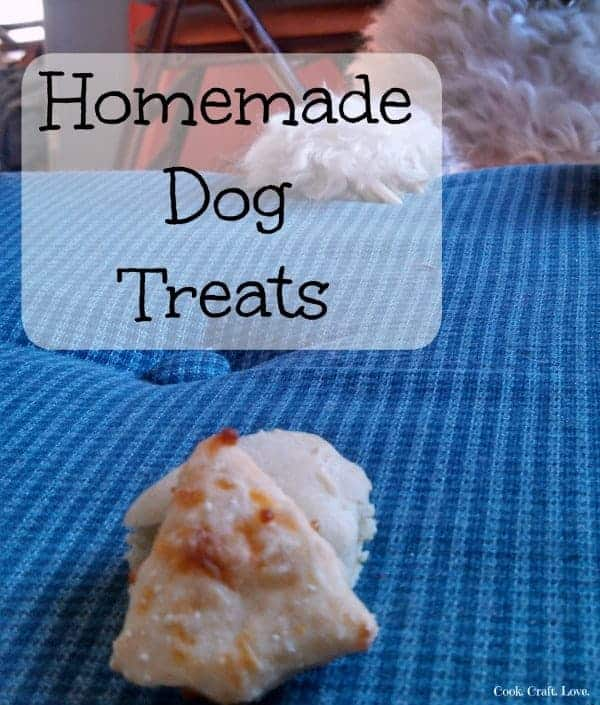 Dog treats are a great way to praise your pet without adding unnecessary ingredients into their diets. Your pet will love these soft and chewy homemade dog treats especially if you use my secret ingredient!