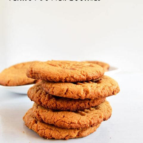 These quick and easy peanut butter cookies are perfect for sharing and with only 3 ingredients you can whip them up in no time!
