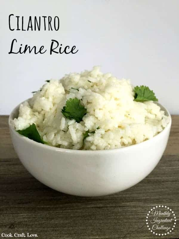 Cilantro lime rice is an easy and delicious side dish perfect for your next Mexican feast! And with only 3 ingredients it's sure to be a crowd pleaser!