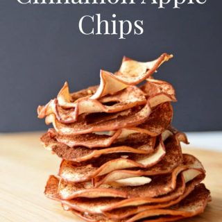 Healthy Cinnamon Apple Chips