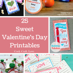 25 Sweet Valentines Day Printables