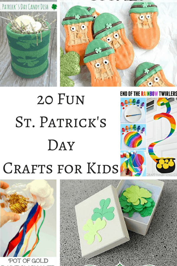 Keep the kids busy celebrating St. Patrick's Day this year with these 20 awesome St. Patrick's Day Crafts for Kids!  #8 is my favorite!