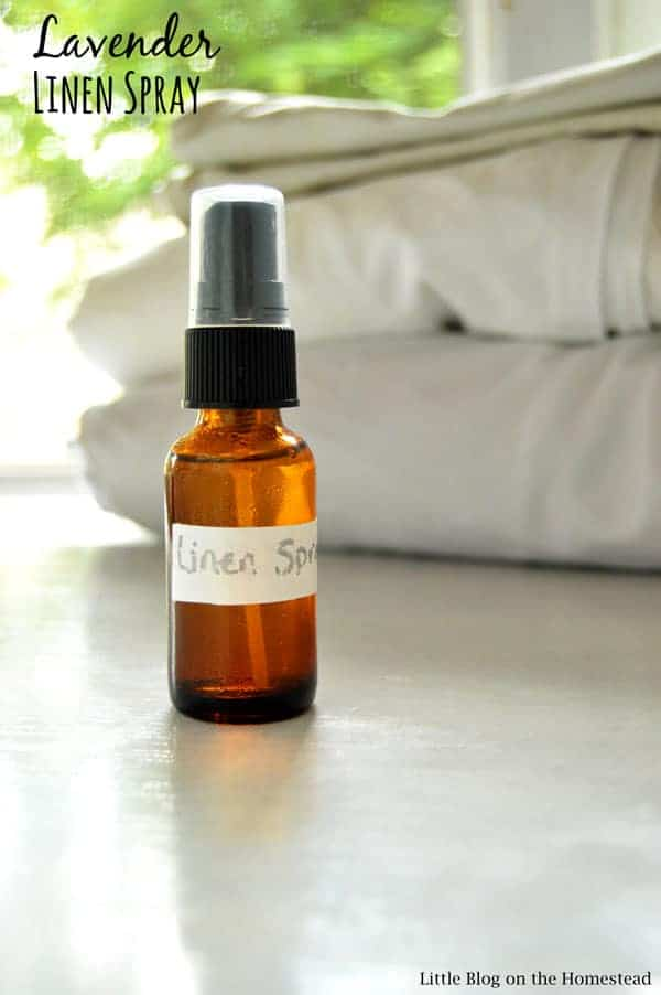 Use this three ingredient, diy linen spray to help you sleep or keep your sports bag smelling fresh!