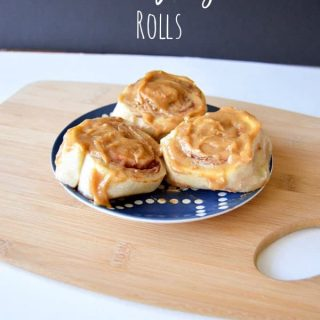 Peanut Butter and Jelly Rolls