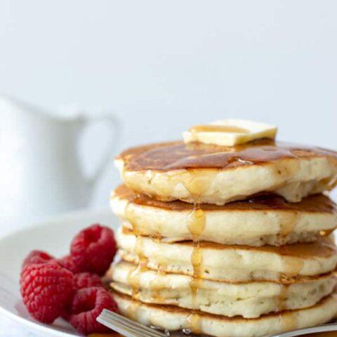 The Easiest Homemade Fluffy Pancake Recipe