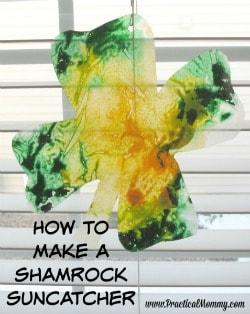 shamrock suncatcher