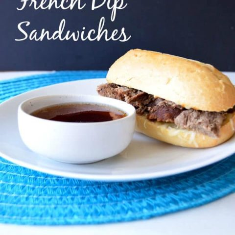 For an easy and delicious french dip sandwich try these perfectly tender french dip sandwiches in the crock pot!