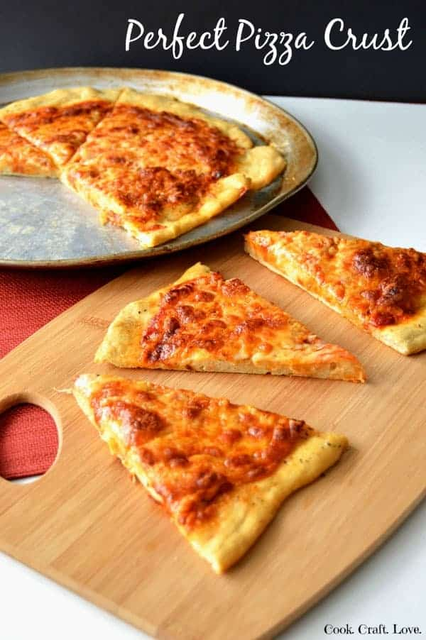 Perfect Crispy Pizza Crust Cook Craft Love