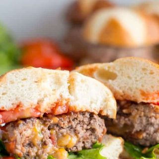 Stuffed Bacon Cheeseburger