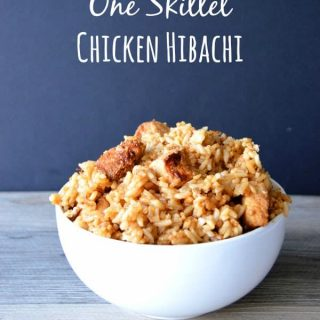 20 Minute One Skillet Chicken Hibachi