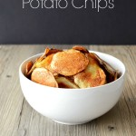 30 Minute Baked Potato Chips
