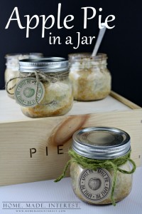 apple pie in a jar