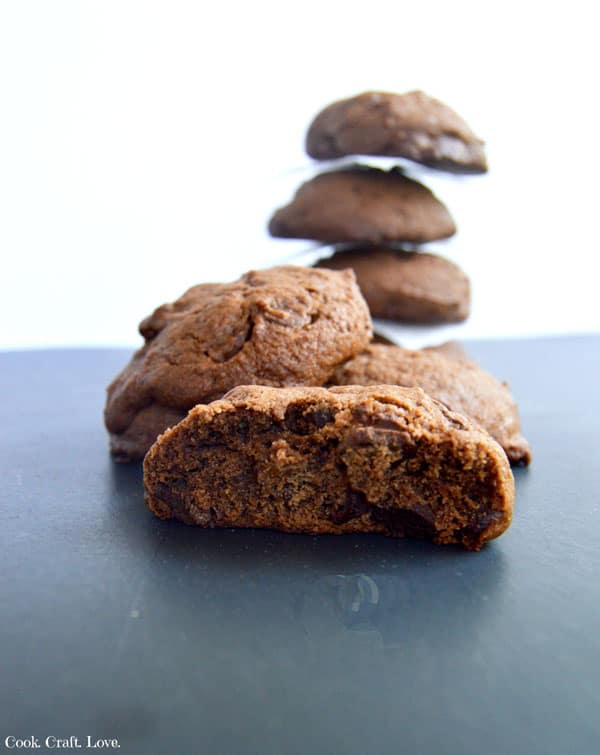 If you're looking for the perfect cookie recipe try these double fudge cookies infused with coca cola syrup! You'll never need another chocolate cookie recipe again!