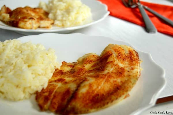 Baked tilapia is a healthy and inexpensive way to enjoy your favorite fish at home! This tilapia can be baked in the oven, cooked on the grill, or even over a campfire for super flavorful tilapia anytime.