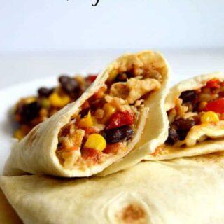 10 Minute Weeknight Burritos