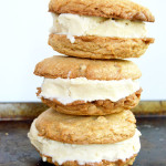 Brown Butter White Chocolate Chip Ice Cream Sandwiches
