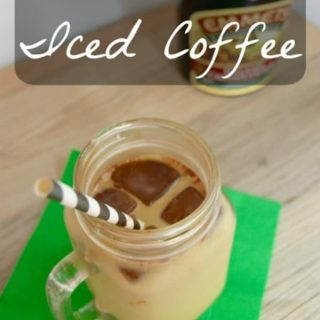 Mint Irish Iced Coffee {Guest Post}