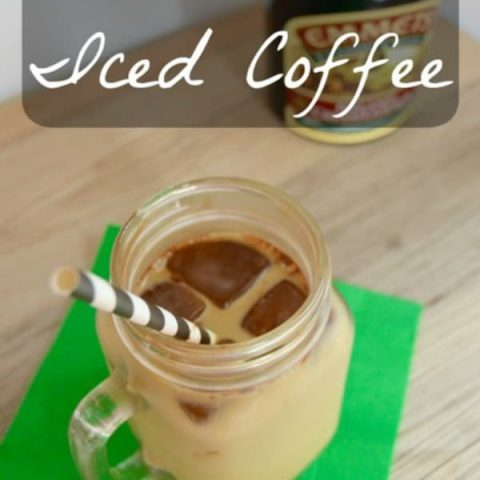 Mint Irish Iced Coffee {Guest Post}