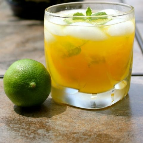 Pineapple Mint Mango Mojito {Guest Post}
