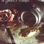 What a Difference a Year Makes {5 Photography Tips to Take Your Blog to the Next Level}