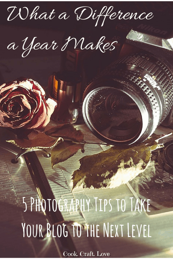 Take your photography to the next level with these 5 awesome photography tips for bloggers {or budding photographers} of all shapes and sizes!