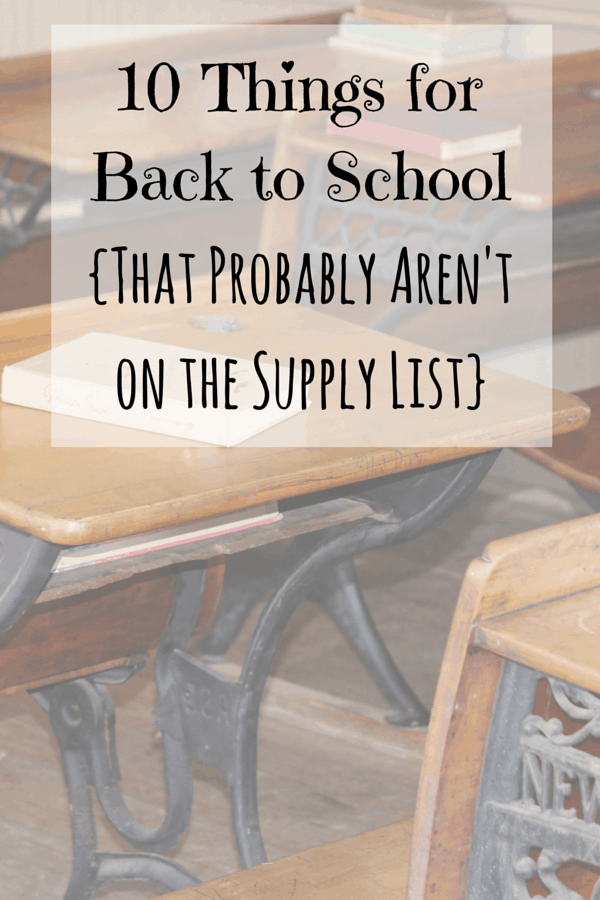 10 Things to Buy for Back to School {That Probably Aren\'t on the ...