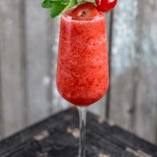 Cherry Strawberry Daiquiri {Guest Post}