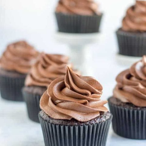 I've taken my favorite cream cheese frosting to the next level by adding chocolate! Chocolate cream cheese frosting tastes great on top of your favorite cake flavor or served with to fruit or graham crackers.