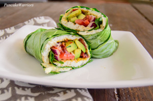 healthy-breakfast-egg-white-collard-green-wrap-close