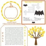 Fall Activity Page {Guest Post + free printable!}