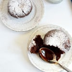 Molten chocolate cake is a decadent dessert that will wow your guests at your next dinner party even though it's an effortless dessert!