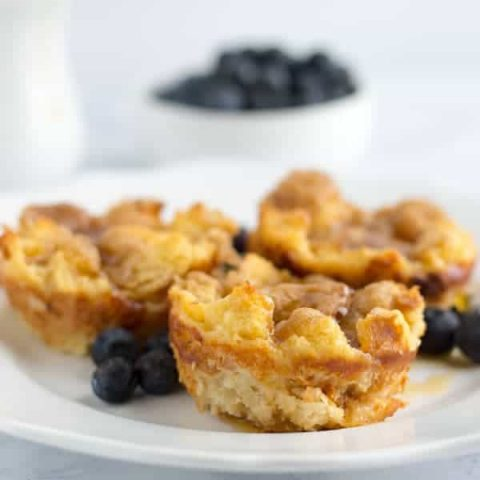 French toast muffins are a great way to enjoy french toast without the soggy middle! Perfect for the french toast hater in your home!