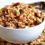 Dark Chocolate Pistachio Granola