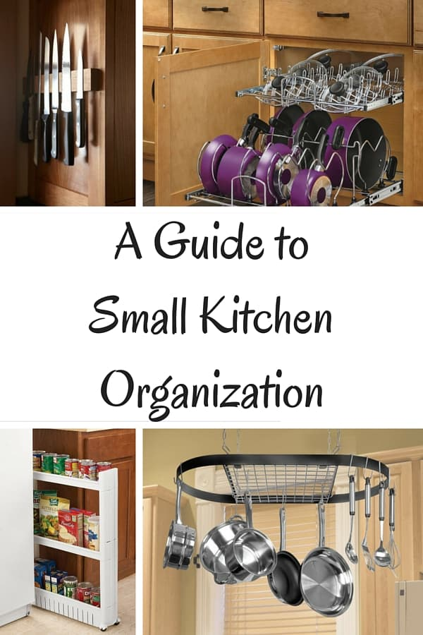 Don't fight your small kitchen, organize it! After 10 years of living with a small kitchen here are my best organizational and room saving tips for your small space!
