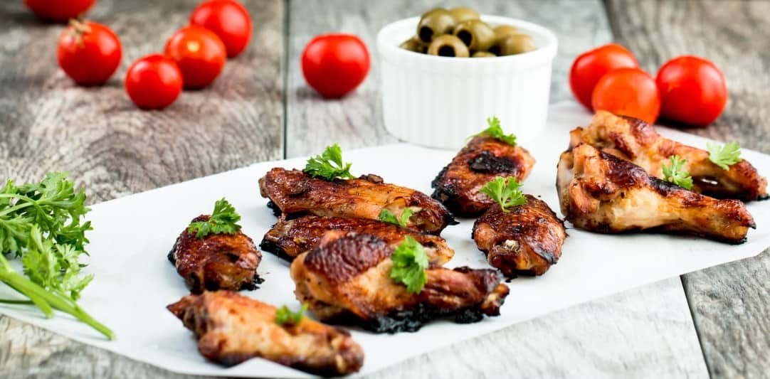 Five Spice Ginger Soy Glazed Chicken Wings , Posh Journal