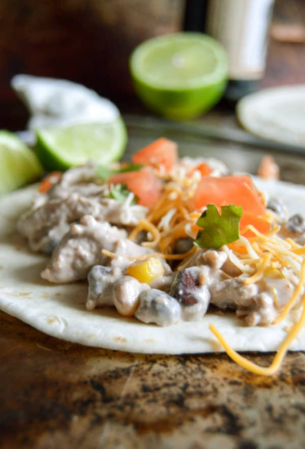 Make the most of your slow cooker with this simple 5 ingredient Crock pot Mexican Chicken!
