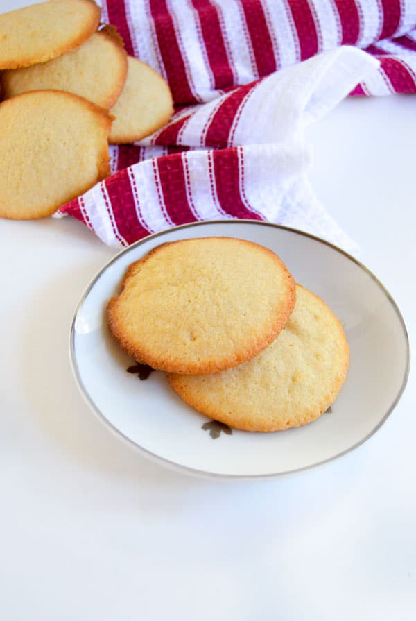 Sandtarts are a sweet butter cookie that remind me of my grandmother with every bite. Plus they're super easy and whip up really fast!
